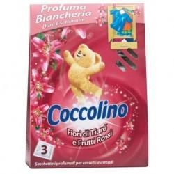Coccolino Saszetki zapachowe do szafy Fiori Di Tiare E Frutti Rossi 3szt