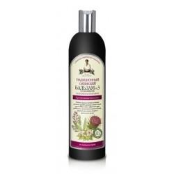 Bania Agafii Tradycyjny syberyjski odżywczy balsam przeciw wypadaniu włosów 3 550ml