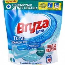 Bryza Hygiene & Protection Gel Caps Kapsułki do prania do bieli i kolorów 28szt.
