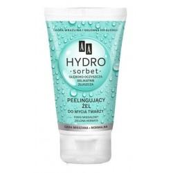 AA Hydro Sorbet peelingujący żel do mycia twarzy do cery mieszanej i normalnej 150ml