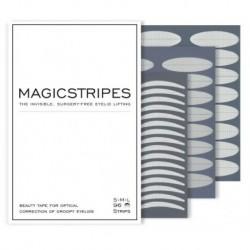 Magicstripes zestaw niewidocznych pasków liftingujących powieki S M L 96 pasków