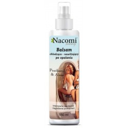 Nacomi Sunny Cooling After Sun Emulsion Soothing Spray balsam chłodząco-nawilżający po opalaniu Pantenol & Aloes 150ml