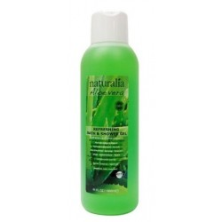 Naturalia Aloe Vera Refreshing Bath & Żel pod prysznic odświeżający żel do mycia ciała 1000ml