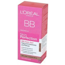 L`Oreal Skin Perfection BB Krem 5W1 Cera jasna 50ml