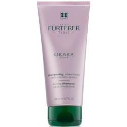 Rene Furterer Okara Silver Toning Shampoo szampon tonizujący do włosów siwych 200ml