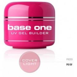 Silcare Gel Base maskujacy żel UV do paznokci One Cover Light 5g