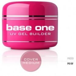 Silcare Gel Base maskujący żel UV do paznokci One Cover Medium 15g