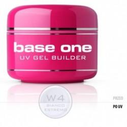 Silcare Gel Base One Bianco Estremo W4 żel budujący do paznokci 15g