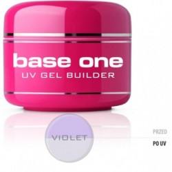 Silcare Gel Base żel budujący do paznokci One Violet 15g
