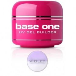 Silcare Gel Base żel budujący do paznokci One Violet 5g