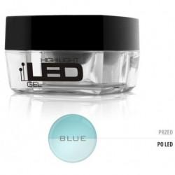 Silcare High Light Led Gel średniogęsty jednofazowy żel do paznokci Blue 15g