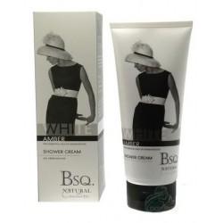 Berkeley Square Natural Couture White Amber Shower Cream Kremowy żel pod prysznic Biały Bursztyn 200ml