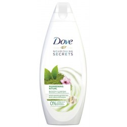 Dove Nourishing Secrets Awakening Ritual Żel pod prysznic żel pod prysznic Matcha Green Tea & Sakura Blossom 750ml