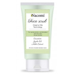 Nacomi Face Scrub peeling przeciwtrądzikowy do twarzy 85ml