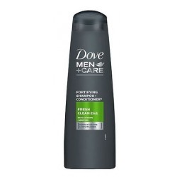 Dove Men + Care Fresh Clean 2in1 Szampoo + Conditioner szampon i odżywka 2w1 Caffeine & Menthol 6x250ml