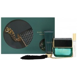 Marc Jacobs Decadence Woda perfumowana 100ml spray + Balsam do ciała 75ml + Woda perfumowana 10ml roll-on