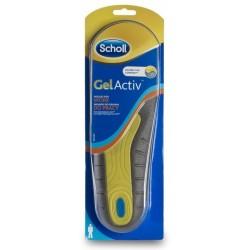 Scholl Gel Activ Insoles For Work Wkładki do obuwia do pracy dla mężczyzn 2szt