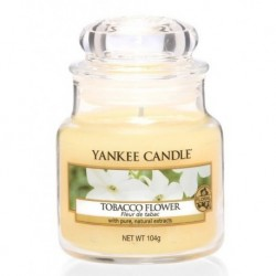Yankee Candle Small Jar Mała świeczka zapachowa Tobacco Flower 104g