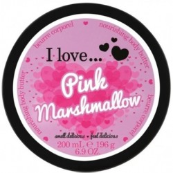 I Love Nourishing Body Butter odżywcze masło do ciała Pink Marshmallow 200ml