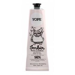 Yope Hand Cream Krem do rąk Imbir & Drzewo Sandałowe 100ml