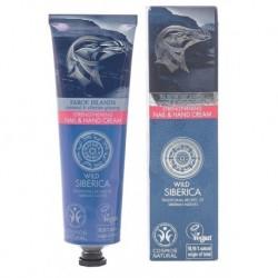 Siberica Professional Wild Siberica Strengthening Nail & Hand Cream Wzmacniający krem do rąk i paznokci 75ml