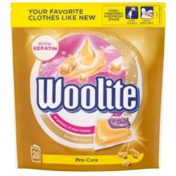 Woolite Pro-Care Kapsułki do prania z keratyną 28szt