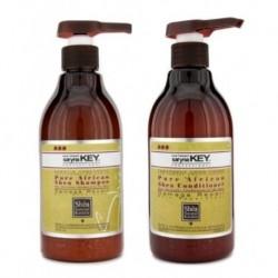 SARYNA KEY Pure African Shea Shampoo 500ml + Shea Conditioner 500ml