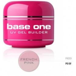 Silcare Gel Base budujący żel do paznokci One French Pink 5g