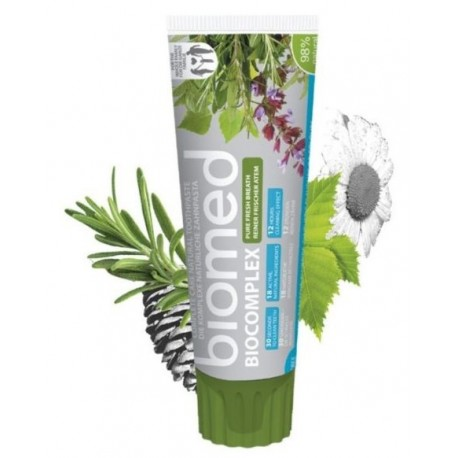 Biomed Biocomplex Complete Care Natural Toothpaste odświeżająca pasta do zębów 100g