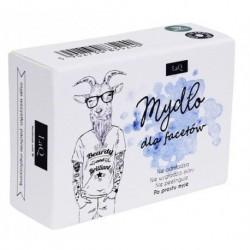 LaQ Mydło Dla Facetów mydło o męskim zapachu z węglem aktywnym i szlachetnymi masłami 85ml