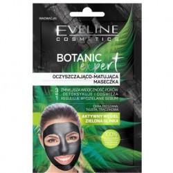 Eveline Botanic Expert oczyszczająco-matująca maska do twarzy z glinką 2x5ml