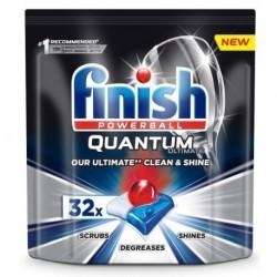 Finish Powerball Quantum Ultimate tabletki do mycia naczyń w zmywarkach 32szt