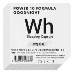 It`s Skin Power 10 Formula Good Night Sleeping Capsule WH dwufazowa maseczka całonocna w kapsułce 5g