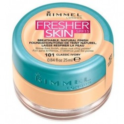 Rimmel Fresher Skin Finish Foundation podkład do twarzy 101 Classic Ivory 25ml