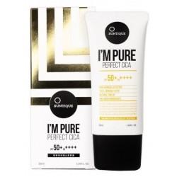 Suntique I`m Pure Perfect Cica Sun Block krem przeciwsłoneczny do skóry wrażliwej 50ml
