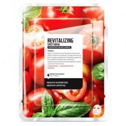Superfood For Skin Revitalizing Sheet Mask rewitalizująca maseczka do twarzy Pomidor 25ml