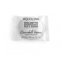 Aquolina Effervescent Bath Tablet Tabletka do kąpieli Biała Czekolada/White Chocolate 25g