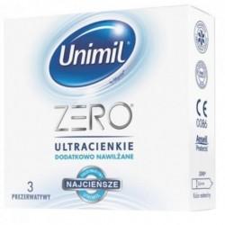 Unimil Zero lateksowe prezerwatywy 3szt