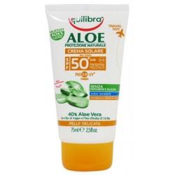 Equilibra Aloe Sun Cream SPF50+ Aloesowy krem przeciwsłoneczny 75ml