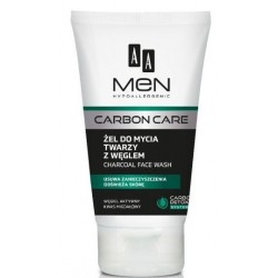 AA Men Carbon Care Charcoal Face Wash żel do mycia twarzy z węglem 150ml