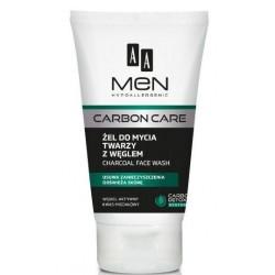 AA Men Carbon Care Charcoal Face Wash żel do mycia twarzy z węglem 150ml