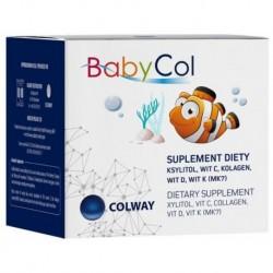 Colway BabyCol Dietary Supplement pastylki dla dzieci z kolagenem i witaminami suplement diety 60 szt.