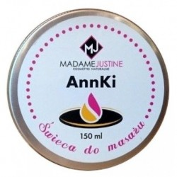 Madame Justine AnnKi świeca do masażu 150ml