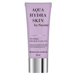 Nacomi Aqua Hydra Skin Moisturizing Face Cocktail 3in1 nawilżający koktajl do twarzy 3w1 85ml