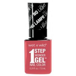 Wet N Wild 1 Step Wonder Gel Nail Color żelowy lakier do paznokci Coral Support 7ml