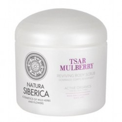 Siberica Professional Tsar Mulberry Reviving Body Scrub Regenerujący peeling do ciała 370ml