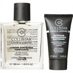 Collistar Uomo Sensitive Skins After-Shave Emulsja po goleniu do skóry wrażliwej 100ml + Supernawilżacz 30ml