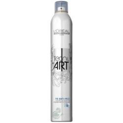 L`Oreal Tecni Art Spray mocno utrwalający i chroniący przed wilgocią Force 4 400ml