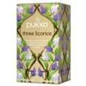 Pukka Herbata ekologiczna Trzy Lukrecje 20 torebek 36g