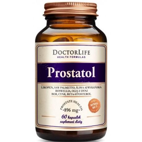 Doctor Life Prostatol 896mg suplement diety 60 kapsułek